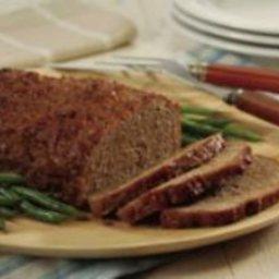 Peach-Glazed Pork Loaf
