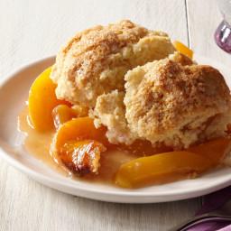 Peach-Plum Cobbler With Buttermilk Biscuits