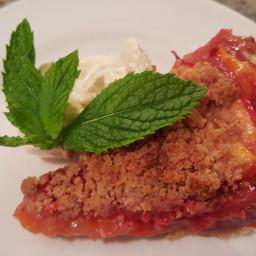 Peach Raspberry Pie