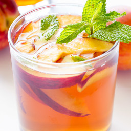Peach Sweet Tea Cocktail Recipe