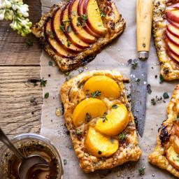 Peach Thyme Tarts.