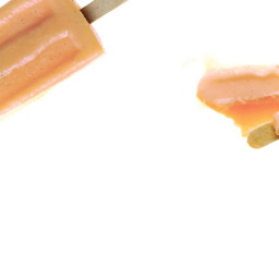 Peach-Vanilla Cream Pops