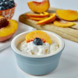 Peach Vanilla Faux-gurt