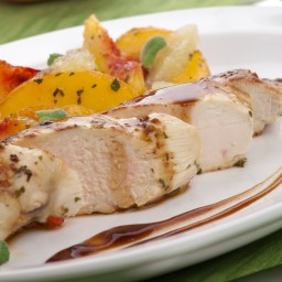 Peach Glazed Chicken