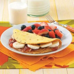 Peanut Butter and Jelly Omelet