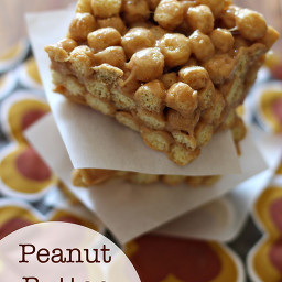 Peanut Butter Cereal Treats...V. Foster
