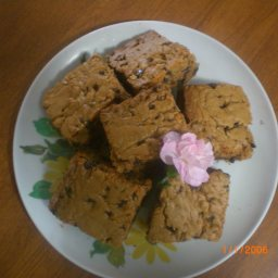 Peanut Butter Chewy Brownies