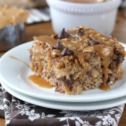 Peanut Butter Chocolate Chip Banana Bread Baked Oatmeal