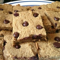 Peanut Butter Chocolate Chip Bean Bars