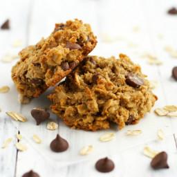 Peanut Butter Chocolate Chip Breakfast Cookies.