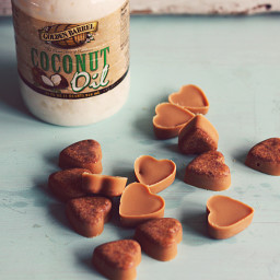 Peanut Butter Coconut Oil Dog Treats
