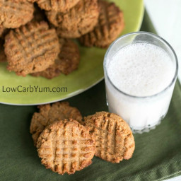 Peanut Butter Cookies with Coconut Flour