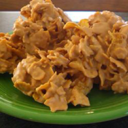 Peanut Butter Crunch Cornflake Bars