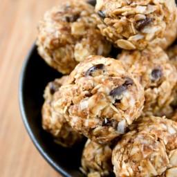 Peanut Butter Energy Bites Recipe Card