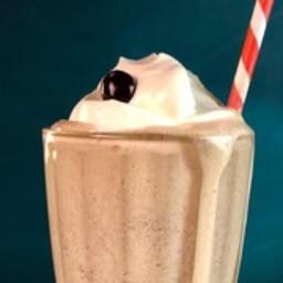 Peanut Butter Espresso Milkshake