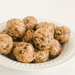 Peanut Butter Flax Seed Balls
