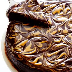 Peanut Butter Flourless Chocolate Cake