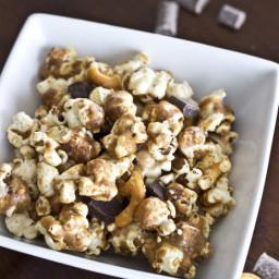 Peanut Butter Pretzel Chocolate Popcorn