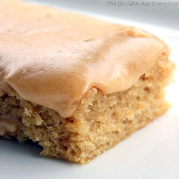Peanut Butter Sheet Cake…and how peanut butter can help you get pregnant