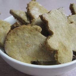 Peanut Butter Carrot Dog Cookies