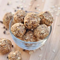 Peanut Butter Oatmeal Energy Bites