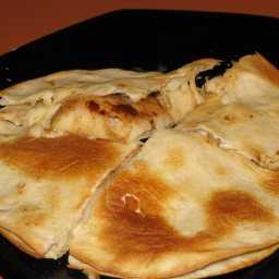 Pear and Cheese Quesadilla