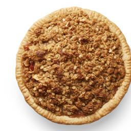 Pear-Apple Crumble Pie