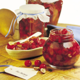Pear Cranberry Chutney