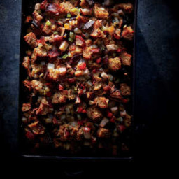 Pear, Sage, and Golden Raisin Stuffing