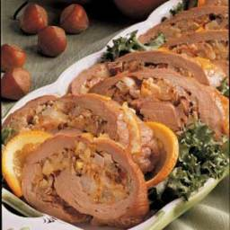 Pear-Stuffed Pork Tenderloin