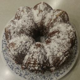 Pear Walnut Bundt Cake