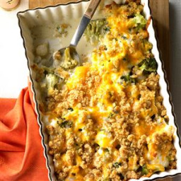 Pearl Onion Broccoli Bake