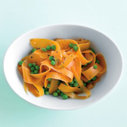 Peas and Carrot Ribbons