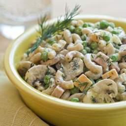 Peas and Ham Pasta Salad