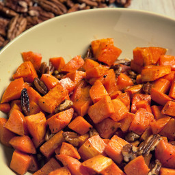 Pecan and Sweet Potato Side Recipe