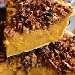 Pecan Crunch Sweet Potato Pie