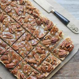 Pecan Pie Bars (Gluten Free)