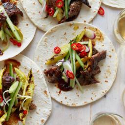 Peking-Style Short Rib Tacos