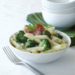 Penne and Broccoli with Zesty Gorgonzola Sauce