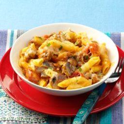 Penne and Sausage Casseroles Recipe