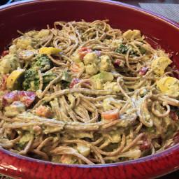Penne Pasta with Pistachio Pesto