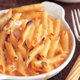 Penne with Five Cheeses