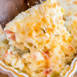 Pepper Jack Rice Bake