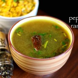 pepper rasam recipe | milagu rasam recipe | menasina saaru