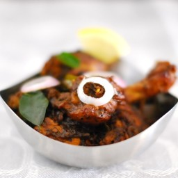 Pepper Chicken ( Kurumulaku Chicken)