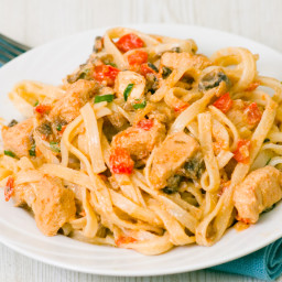 Peppered Lemon Chicken Pasta