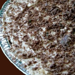 Peppermint Crisp Tart (fake)