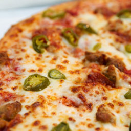 Pepperoni & Jalapeno Pizza