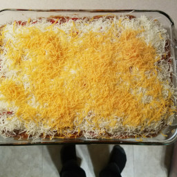 pepperoni pizza hotdish