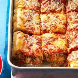 Pepperoni-Sausage Stuffed Pizza Recipe